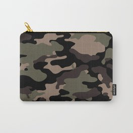 Seamless Camouflage Pattern Carry-All Pouch