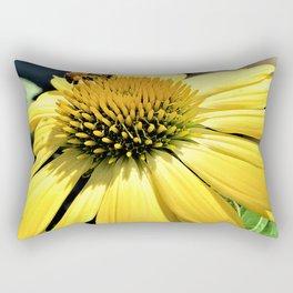 A Sunny Honey Rectangular Pillow