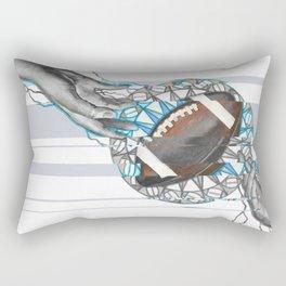 The perfect pass / American football Rectangular Pillow