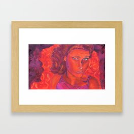 Warm Contemplation Framed Art Print