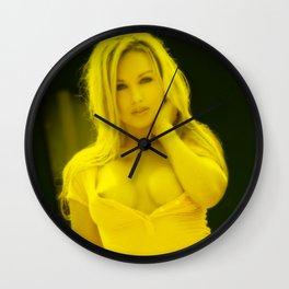 Kayden Kross - Celebrity (Porn Star) Wall Clock