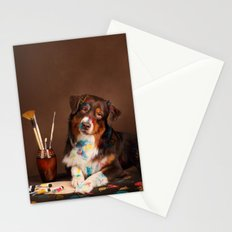 DOG ARTIST Stationery Cards