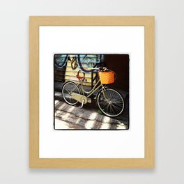 Bicycle on a Sunday Afternoon Framed Art Print