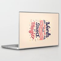 risa rodil Laptop & iPad Skins featuring Source of Magic by Risa Rodil