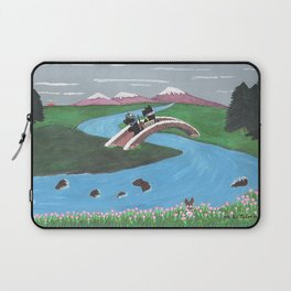 Looking for Nessie - Scotties - Scottish Terriers Laptop Sleeve