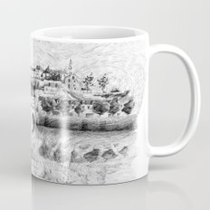 Terrasson village - France drawing Mug