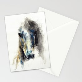 Horse Drawing Alerte V Stationery Cards