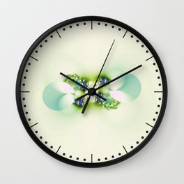 Decorated Infinity Citrus Wall Clock