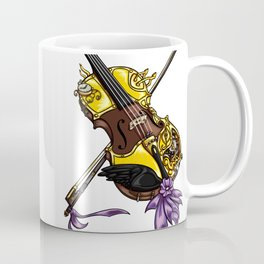 Steampunk Violin Coffee Mug