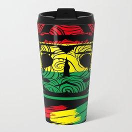 brazil color patterns Metal Travel Mug