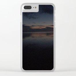 Sensational Sunset Clear iPhone Case