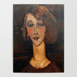 "Amedeo Modigliani ""Renée (The Blonde)"" Poster"