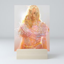 "Aphrodite (""Charm of of the Ancient Enchantress"" Series) Mini Art Print"