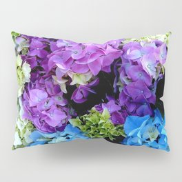 Colorful Flowering Bush Pillow Sham
