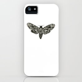 Death's-Head Hawkmoth iPhone Case
