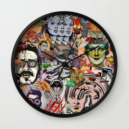 The Sun is Gone Wall Clock