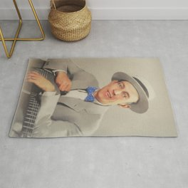 Jimmie Rodgers, Music Legend Rug
