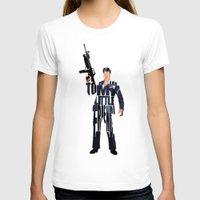montana T-shirts featuring Tony Montana by Ayse Deniz