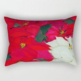 Poinsettias, Olbrich, 5345 Rectangular Pillow