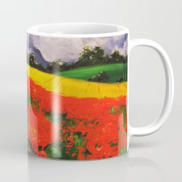 Poppies before the Storm Coffee Mug