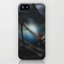 it was cold, but we didn't mind iPhone Case