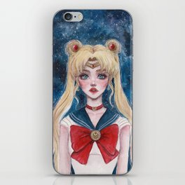 Defender of Love and Justice iPhone Skin