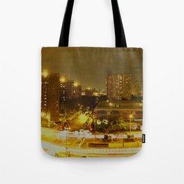 New York Skyline 2 Tote Bag