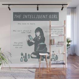 Hermione Granger / The Intelligent Girl Wall Mural