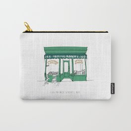 Vesuvio Bakery Storefront, NYC, New York City Carry-All Pouch