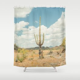Old West Arizona Shower Curtain