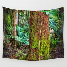 New and old rainforest growth Wall Tapestry