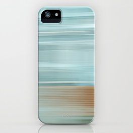 Life (Aqua and Burnt Rose) iPhone Case