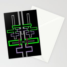 DOUBLE CROSS Stationery Cards