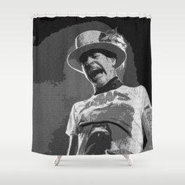 Ahead by a Century - Gord Downie Tragically Hip Shower Curtain