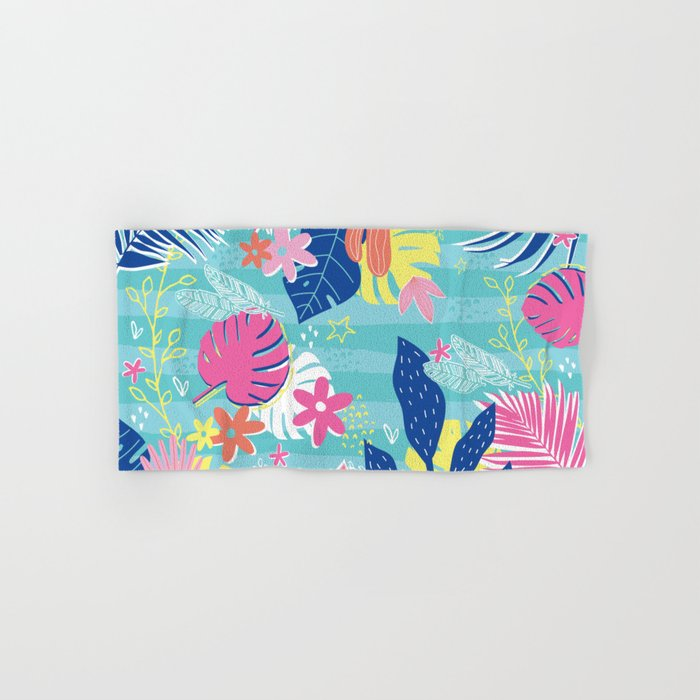 Tropical Vibes Hand & Bath Towel