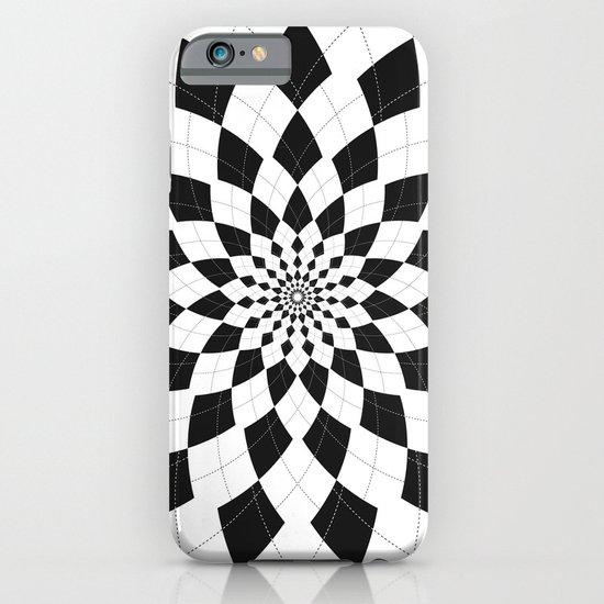 Black & White Argyle iPhone & iPod Case