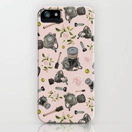Don't stop to smell the roses iPhone Case