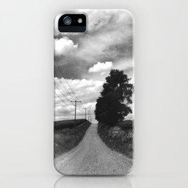 Back Road Adventure iPhone Case