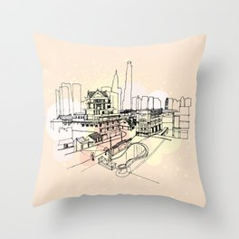 China daily Throw Pillow