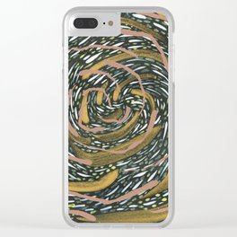 If Everything was Enough. Or if Everything was More. Clear iPhone Case