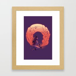 Sleepycabin's Key to Pandora's Box Framed Art Print