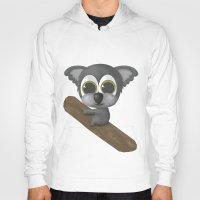 koala Hoodies featuring KOALA by Ainaragm