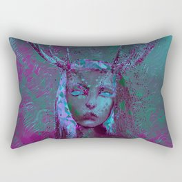 Fawn (Alternative Version) Rectangular Pillow