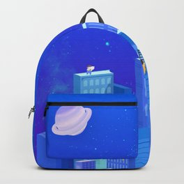 Modern City Draw Backpack