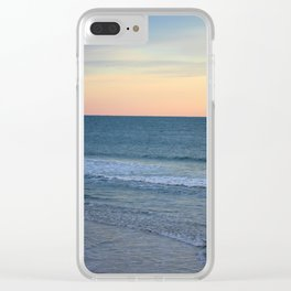 Seascape View Clear iPhone Case