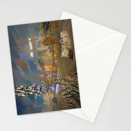 landscape collage #21 Stationery Cards