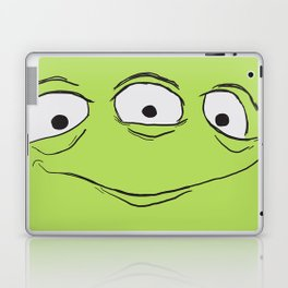 Alien Face Laptop & iPad Skin