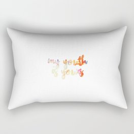 my youth is yours Rectangular Pillow