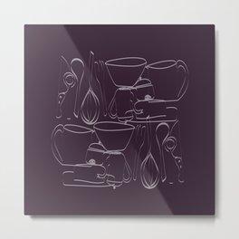 batuque na cozinha 19 (drumming in the kitchen) Metal Print