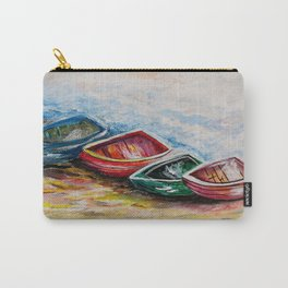 In from the Sea Carry-All Pouch